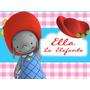 Kit Imprimible Ella La Elefanta Diseñá Tarjetas Invitaciones
