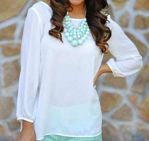 Blusas para mujer Limonni LI168 Casuales