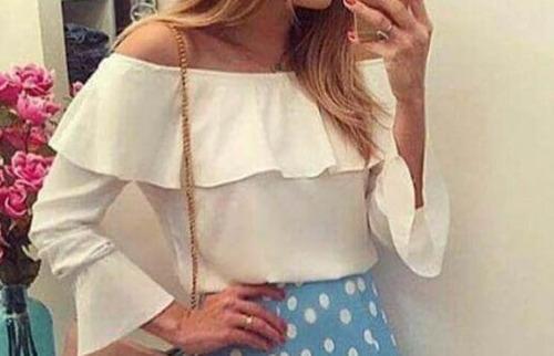 Blusas para mujer Limonni LI451 Campesinas