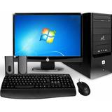 Computador Lenovo Dell Hp 4giga +250gb+lcd17+wifi+1 Año Gtia