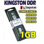 Outlet!! Memoria Ddr 1gb Kingston 1 Año De Gtía Por Escrito
