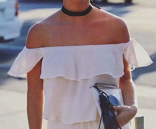 Blusas para mujer Limonni LI435 Campesinas