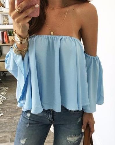 Blusas para mujer Limonni LI1006 Campesinas