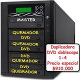 Duplicadora Grabadora Discos Cd/dvd/ D Capa 1-4 N Computador