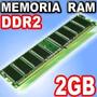 Liquidacion! Memoria Ddr2 2gb 800mhz Pc 1 Año De Garantía