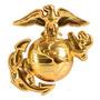 Pin Rothco Usmc Cap Pin Marines Dorado
