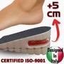 Aumenta Estatura +5cm 2 Plantillas Ortopedica Zapatos Comoda