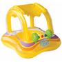 Flotador Con Techo Para Bebes Inflable Cuadrado Intex