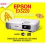 Proyector Epson Ex3220 Vs240 Video Beam Wifi Hdmi Todomodelo