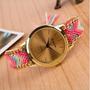 Reloj Para Mujer Tejido A Mano Paquete Por 50 Unidades