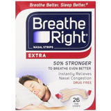 Tiras Nasales Breathe Right Extra Fuerte Caja Original