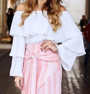 Blusas para mujer Limonni LI1081 Campesinas