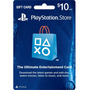 $10 Psn Playstation Network Codigo Americano Ps3 Ps4 Vita