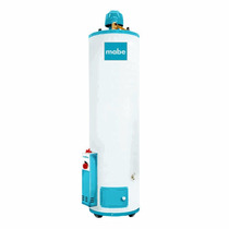 Calentador De Agua Mabe 20 Galones Caglm2005an1 Color Blanco