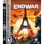 Original, En Fisico, Ps3 Tom Clancy's End War