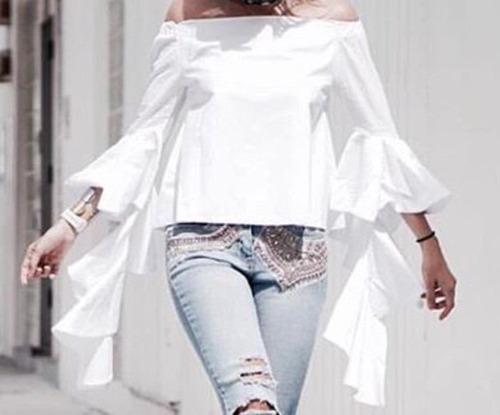 Blusas para mujer Limonni LI954 Campesinas