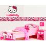 Vinilo Decorativo Hello Kitty /cenefas Adhesivas Personaliza