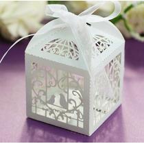 Cajitas Recordatorios Pájaros Para Matrimonio, Aniversario