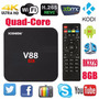 Tv Box Android 5.1 Convierte Tu Tv A Smart Tv V88 4k Rk 3229