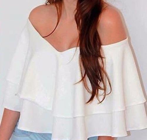 Blusas para mujer Limonni LI927 Campesinas