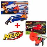 Lanzador Nerf Vortex Vigilon + Nerf Rough Cut Hasbro 32215/a