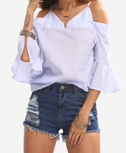 Blusas para mujer Limonni LI823 Campesinas