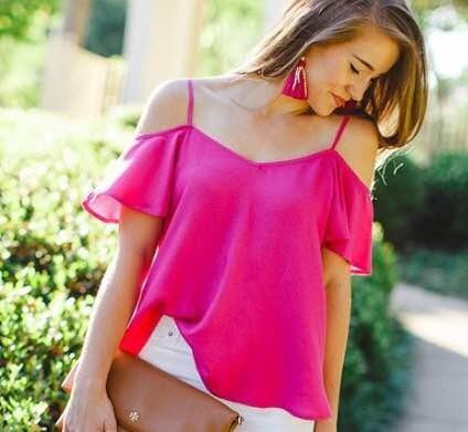 Blusas para mujer Limonni LI532 Campesinas