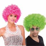 ¡ Peluca Afro Colores Fantasía Colores Fiesta Halloween !!