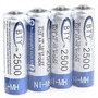 Pilas  Rechargeable  4-piece 1.2v 2500mah Aa Ni-mh