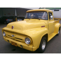 Ford F100 1.956 Espectacular Motor Ford Mustang 302 Full
