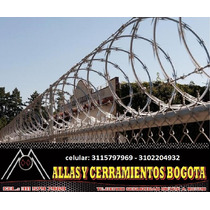 Concertina Alambre De Seguridad En Bogota