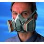 Mascara 3m Con Filtros Contra Gases Y Vapores Quimicos Humos