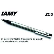 Boligrafo Lamy 205 Con Personalizada Laser