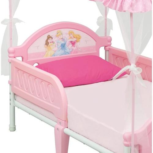 Cama cuna para nina bebe de disney princesa con carpa - Cuna cama para nina ...