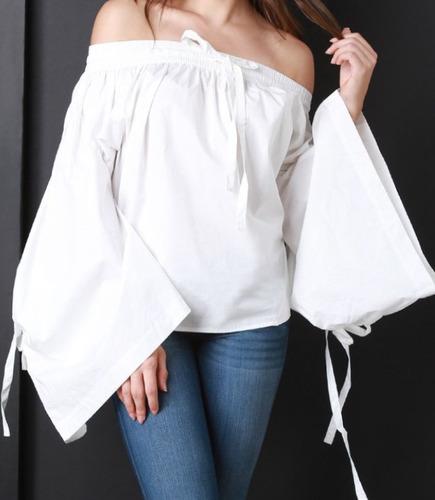 Blusas para mujer Limonni LI412 Campesinas