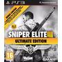 Sniper Elite 3 Ultimat Edition Ps3 Formato Digital Todos Dlc