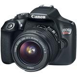 Cámara Canon T6 Kit 18-55mm Is Ii Full Hd + Estuche