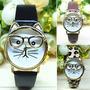 Reloj Tipo Gato Bonito Ilusion Of Time