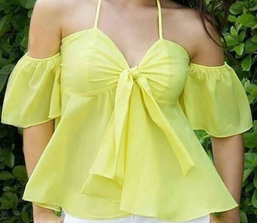 Blusas para mujer Limonni LI593 Campesinas