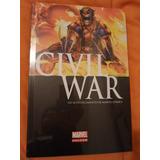 Civil War Marvel Comics Pasta Dura Historia Completa