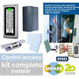 Control Acceso Standalone; Kit Electro Lock;lector;2 Tarjeta
