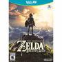 Físico The Legend Of Zelda Breath Of The Wild Wii U Nintendo