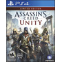 Assassins Creed Unity Limited Ed Ps 4 Fisico Nuevo Sellado