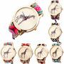 Relojes Hermos Diseño De Jirafa Tejido A Mano Fotos Reales