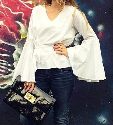 Blusas para mujer Limonni LI755 Campesinas