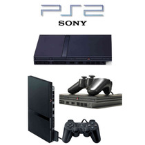 Play Station 2 Slim +2 Controles+chip+5 Obsequios
