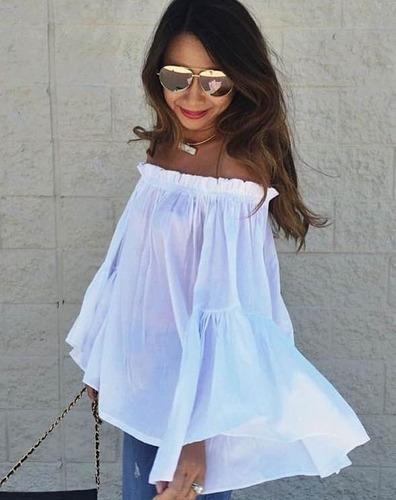 Blusas para mujer Limonni LI735 Campesinas