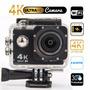 Camara Video Acción 4k, Wifi, 16mpx, Sumergible 30 Mts + Obs