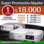 Alquiler De Videobeam 18.000 Pesos 608 8819 322 4363013