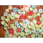 120 Flores Fimo 9mm Artesania Bisuteria